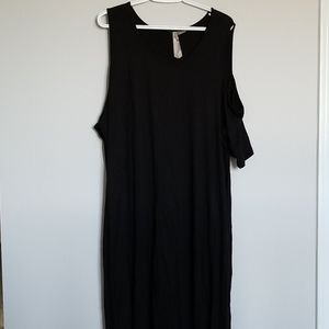 Super Soft Cold Shoulder Dress